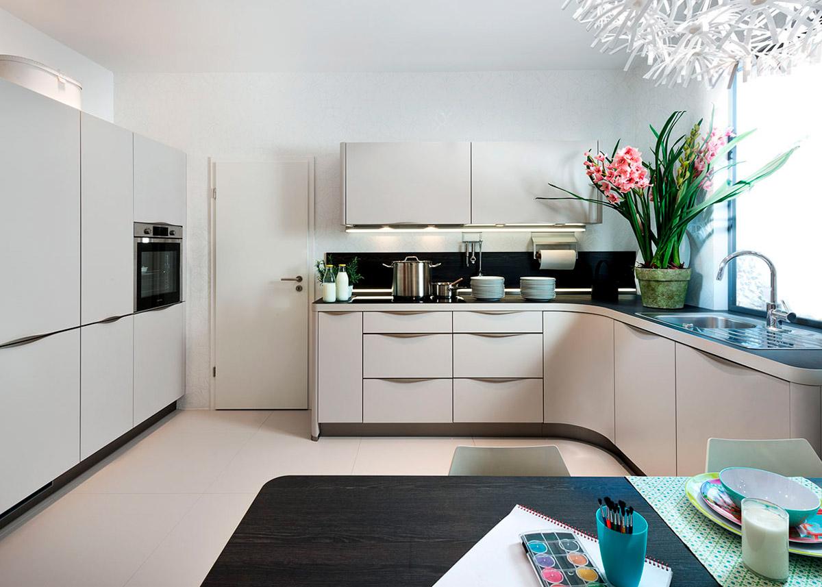 П - образные кухни