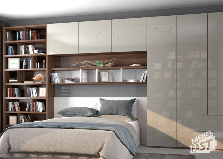 Спальни  совмещенная  с библиотекой 02