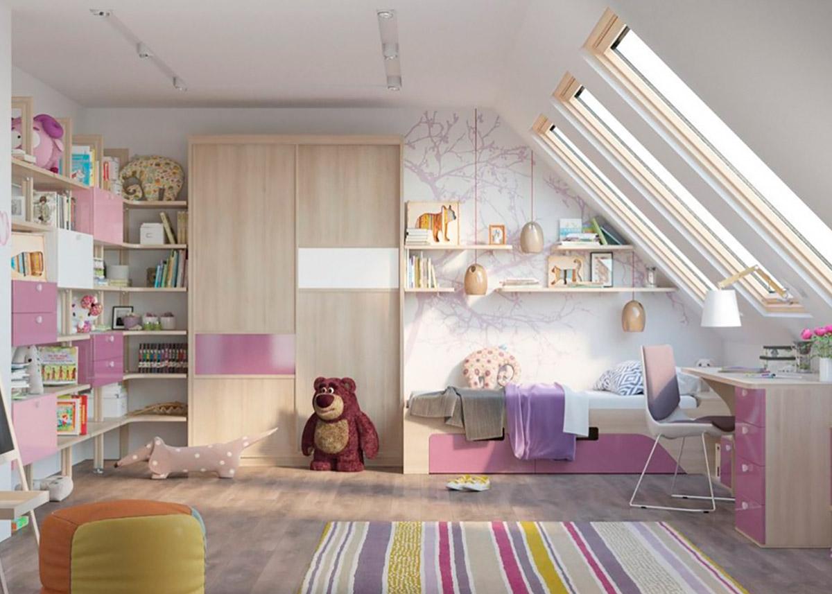 Обставляем детскую комнату