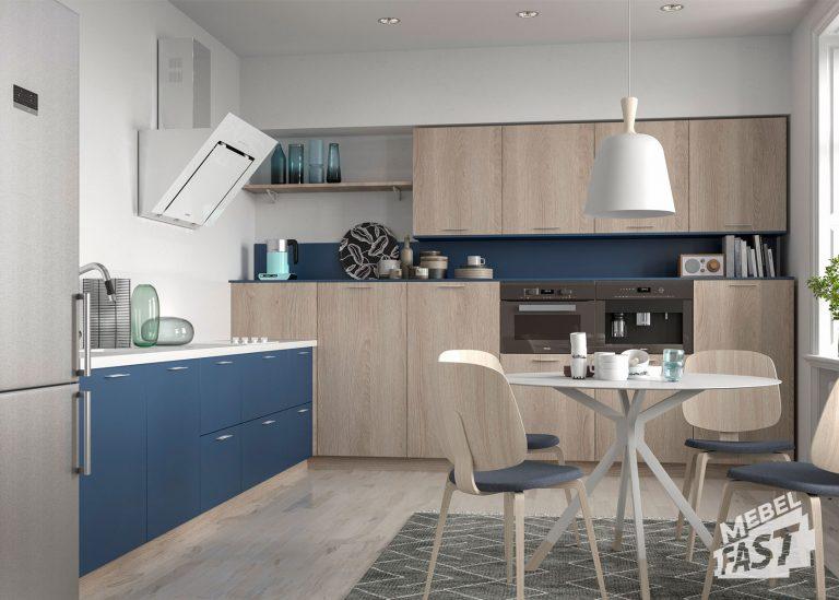 Кухня в скандинавском стиле 22